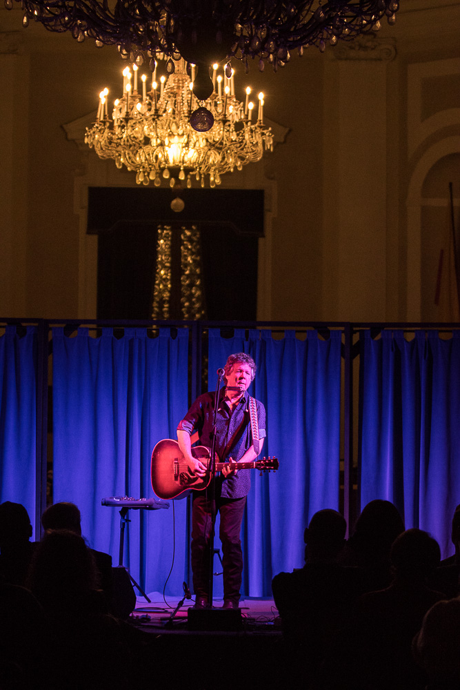 Steve Forbert Live @ Salone Marchettiano – Opening Act The Crowsroads